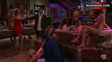 6. Candace Bailey Bikini Scene – Anger Management