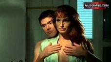 2. Alexandra Kamp Bare Tits in Front of Mirror – Ich Liebe Eine Hure