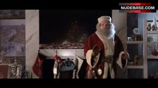 2. Jordan Hinson Sexy in See-Through Nightgown – A Very Harold & Kumar 3D Christmas
