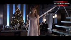 Jordan Hinson Sexy in See-Through Nightgown – A Very Harold & Kumar 3D Christmas