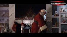 4. Jordan Hinson Sexy in See-Through Nightgown – A Very Harold & Kumar 3D Christmas