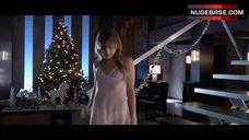 5. Jordan Hinson Sexy in See-Through Nightgown – A Very Harold & Kumar 3D Christmas