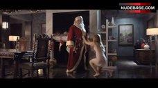 6. Jordan Hinson Sexy in See-Through Nightgown – A Very Harold & Kumar 3D Christmas