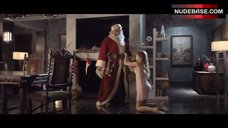 8. Jordan Hinson Sexy in See-Through Nightgown – A Very Harold & Kumar 3D Christmas