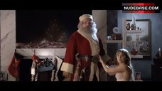 9. Jordan Hinson Sexy in See-Through Nightgown – A Very Harold & Kumar 3D Christmas