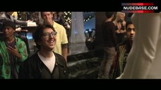 5. Jordan Hinson Nipples Through Dress – A Very Harold & Kumar 3D Christmas
