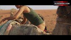 7. Mia Wasikowska Underwear Scene – Tracks
