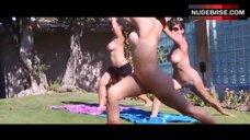 8. Alicia Arden Nude Yoga – American Nudist