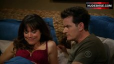 Liz Vassey Lingerie Scene – Two And A Half Men