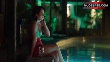 9. Jessica Tovey Bikini Scene – Wolf Creek