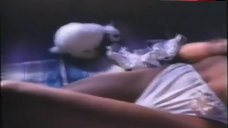 2. Kathy Shower Lying Topless – Wild Cactus