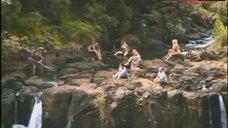 1. Samantha Phillips Bikini Scene – Treasure Hunt!