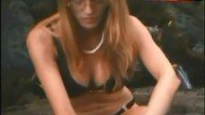 5. Samantha Phillips Bikini Scene – Treasure Hunt!