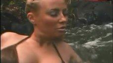 8. Samantha Phillips Bikini Scene – Treasure Hunt!