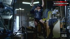 10. Gina Carano Hot Scene – Almost Human