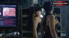 5. Gina Carano Hot Scene – Almost Human