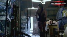 6. Gina Carano Hot Scene – Almost Human