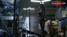 7. Gina Carano Hot Scene – Almost Human