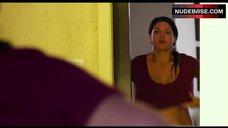 10. Gina Carano Shows Sexy Lingerie – In The Blood