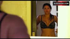 7. Gina Carano Shows Sexy Lingerie – In The Blood