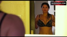Gina Carano Shows Sexy Lingerie – In The Blood