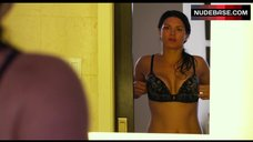 9. Gina Carano Shows Sexy Lingerie – In The Blood