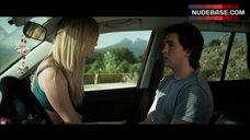 10. Dreama Walker Sexy Scene in Car – Date And Switch