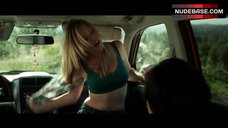 Dreama Walker Sexy Scene in Car – Date And Switch