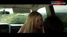 3. Dreama Walker Sexy Scene in Car – Date And Switch