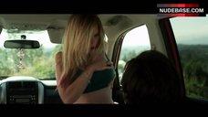 4. Dreama Walker Sexy Scene in Car – Date And Switch