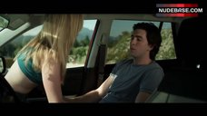 6. Dreama Walker Sexy Scene in Car – Date And Switch