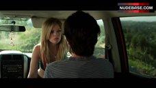 9. Dreama Walker Sexy Scene in Car – Date And Switch
