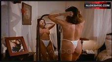 2. Landon Hall Topless in Thong – Hotel Exotica