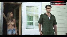 2. Elizabeth Masucci Boobs Scene – Virgin Alexander