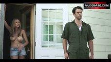 5. Elizabeth Masucci Boobs Scene – Virgin Alexander