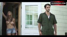 7. Elizabeth Masucci Boobs Scene – Virgin Alexander