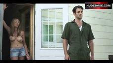 8. Elizabeth Masucci Boobs Scene – Virgin Alexander