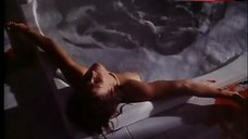Jane Badler Naked in Bathtub – Easy Kill