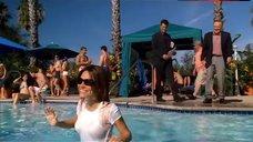 Vanessa Marcil Sexy in Wet T-Shirt – Las Vegas