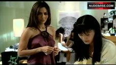 Vanessa Marcil Pokies Through Dress – Las Vegas