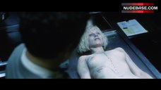Catherine Sutherland Breasts Scene – The Cell