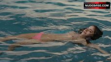 Weronika Rosati Topless in Swimming Pool – True Detective