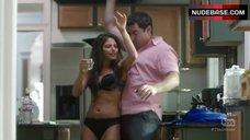 Weronika Rosati Dancing in Lingerie – The Detour