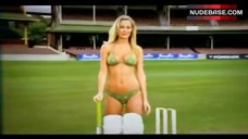 Lara Bingle Bikini Scene – 3 Ashes Test Commercial