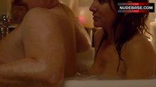 Pamela Adlon Nipple Slip – Louie
