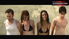 Emmanuelle Chriqui Sunbathing in Bikini – Taking Chances