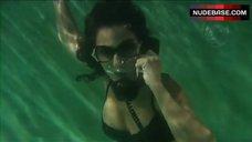 Emmanuelle Chriqui in Lingerie Underwater – Women In Trouble
