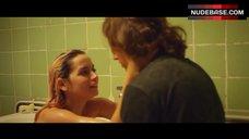 3. Ana De Armas Flashes Nude Boobs – Por Un Punado De Besos