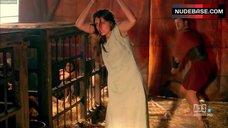2. Ana De Armas in Wet See-through Dress  – Hispania, La Leyenda