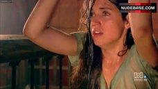 4. Ana De Armas in Wet See-through Dress  – Hispania, La Leyenda